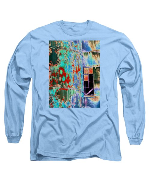 The Beauty Of Steel Long Sleeve T-Shirt