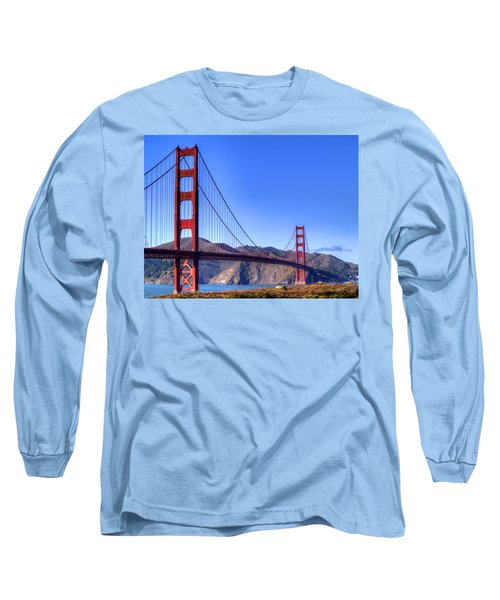 The Bridge Long Sleeve T-Shirt by Bill Gallagher