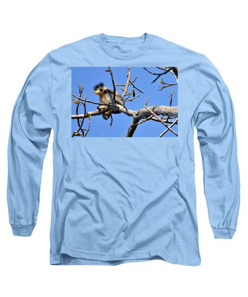 The Capped One Long Sleeve T-Shirt by Fotosas Photography