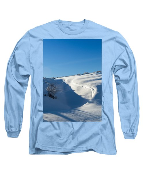 The Colors Of Snow Long Sleeve T-Shirt