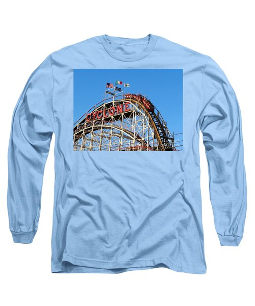 Long Sleeve T-Shirt featuring the photograph The Cyclone by Ed Weidman