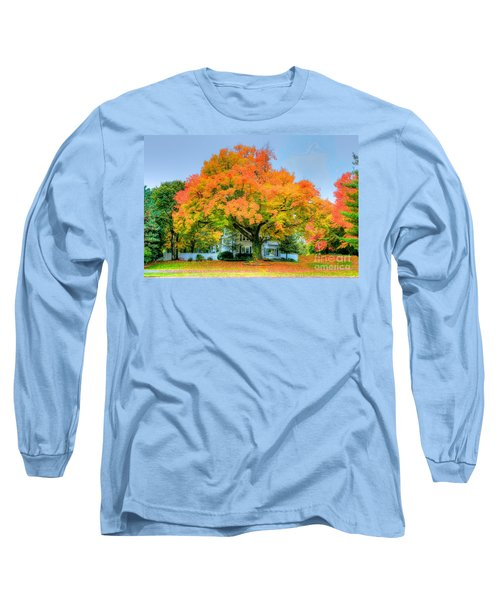 Long Sleeve T-Shirt featuring the photograph The Family Tree In Autumn by Robert Pearson