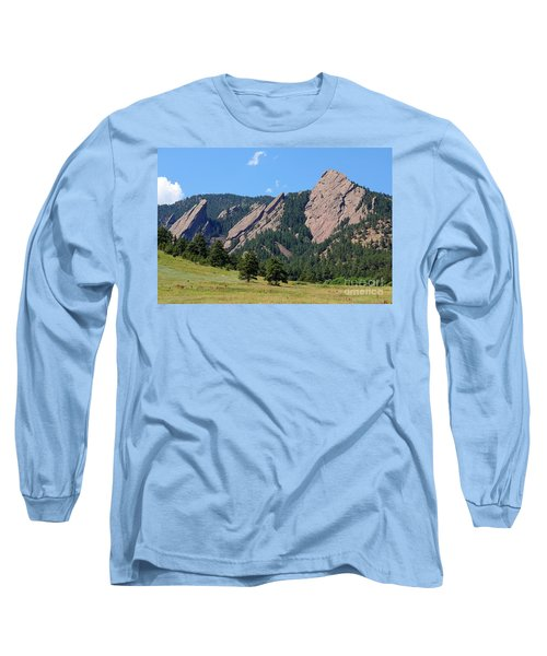 The Flatirons Long Sleeve T-Shirt