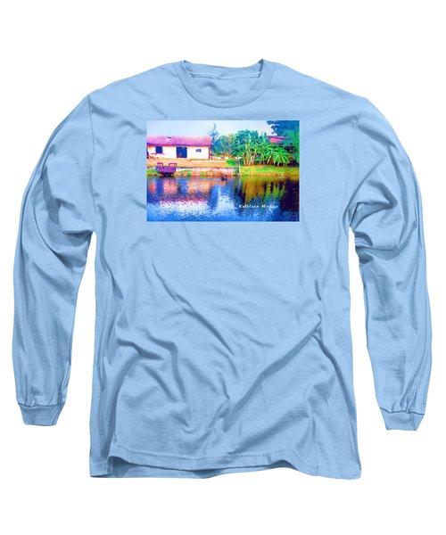 The House Across The Way Long Sleeve T-Shirt
