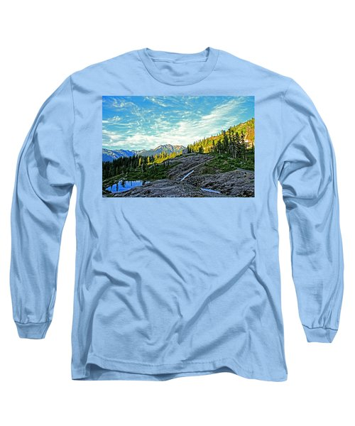 Long Sleeve T-Shirt featuring the photograph The Hut. by Eti Reid