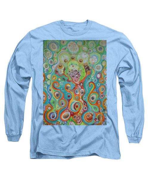 The Juggler Of Junkadelphia Long Sleeve T-Shirt by Douglas Fromm