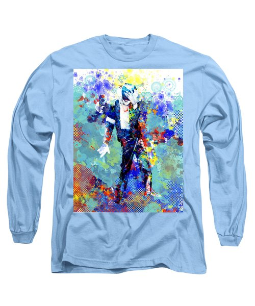 The King Long Sleeve T-Shirt by Bekim Art