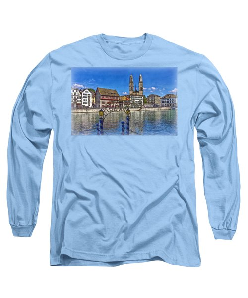 The Limmat City Long Sleeve T-Shirt by Hanny Heim