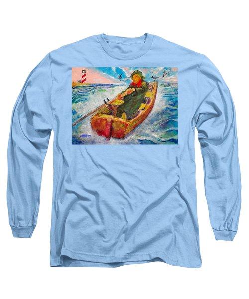 The Lone Boatman Long Sleeve T-Shirt