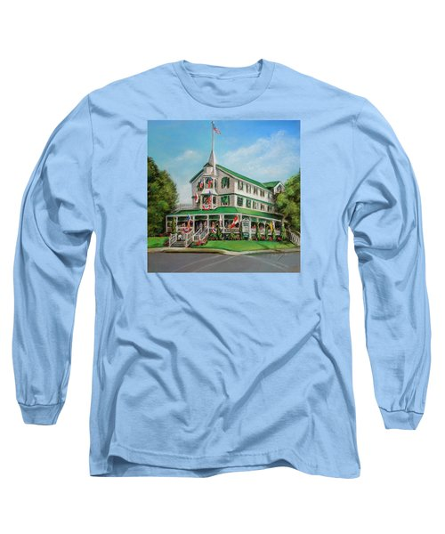 The Parker House Long Sleeve T-Shirt by Melinda Saminski