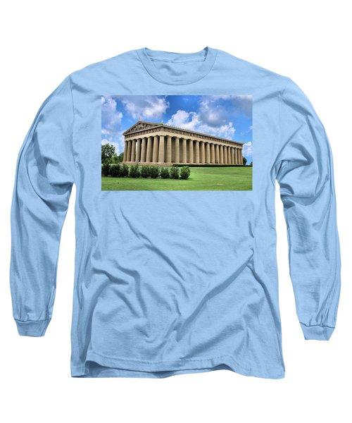 The Parthenon Long Sleeve T-Shirt by Kristin Elmquist