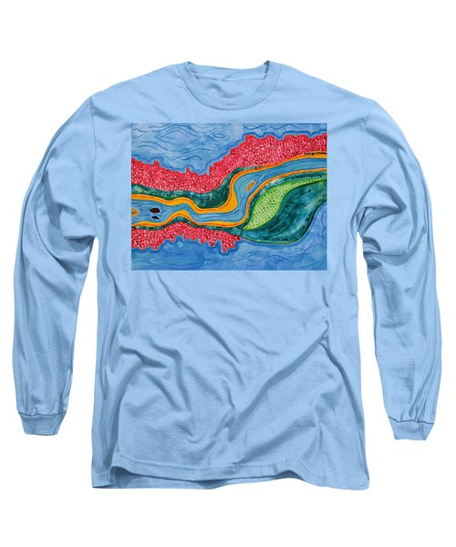 The Riffles Original Painting Long Sleeve T-Shirt