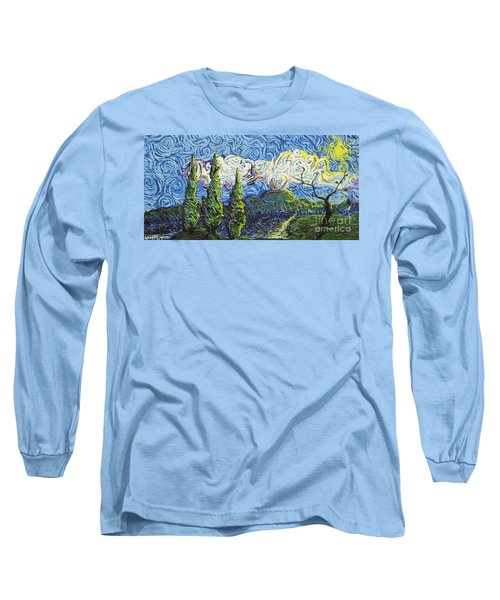 The Shores Of Dreams Long Sleeve T-Shirt
