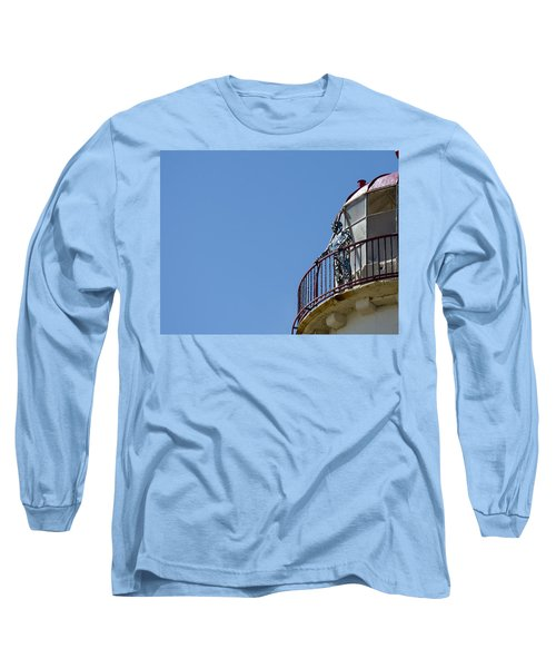The Silver Man Long Sleeve T-Shirt by Spikey Mouse Photography