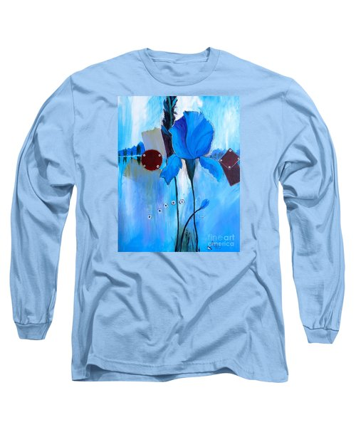 The Sound Of Blue Long Sleeve T-Shirt
