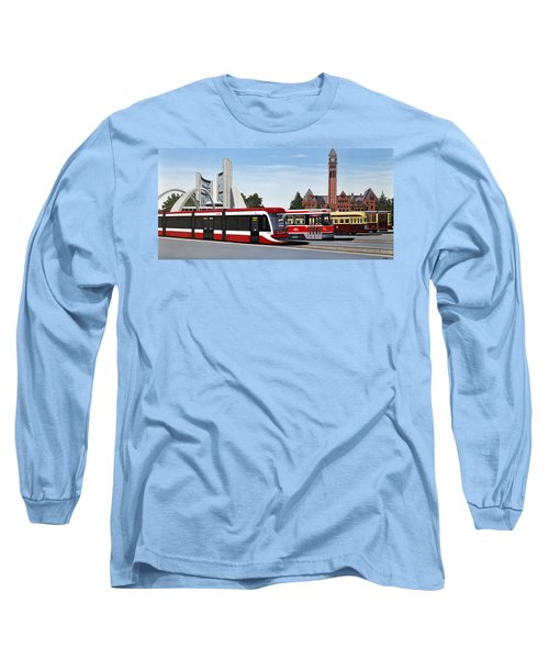The Toronto Streetcar 100 Years Long Sleeve T-Shirt