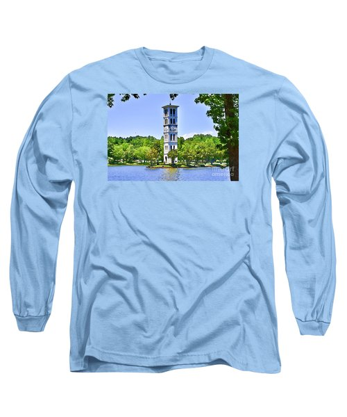 Long Sleeve T-Shirt featuring the photograph The Tower by Larry Bishop