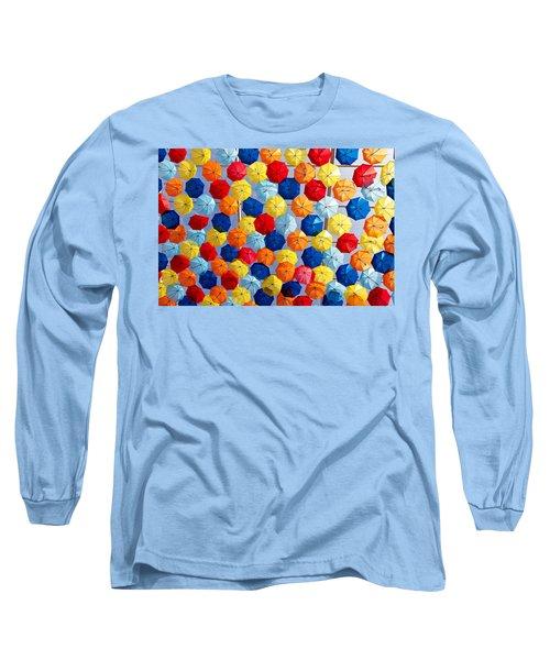 The Umbrella Sky Long Sleeve T-Shirt