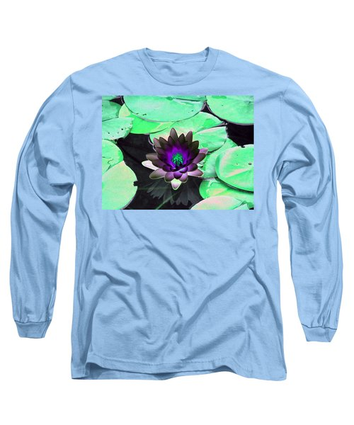 The Water Lilies Collection - Photopower 1113 Long Sleeve T-Shirt