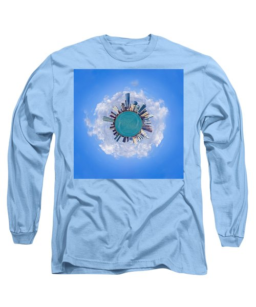 Long Sleeve T-Shirt featuring the photograph The World Of Miami by Carsten Reisinger
