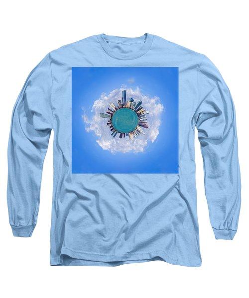 The World Of Miami Long Sleeve T-Shirt by Carsten Reisinger