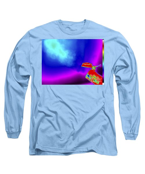 Thermogram Of A Boiling Kettle Long Sleeve T-Shirt