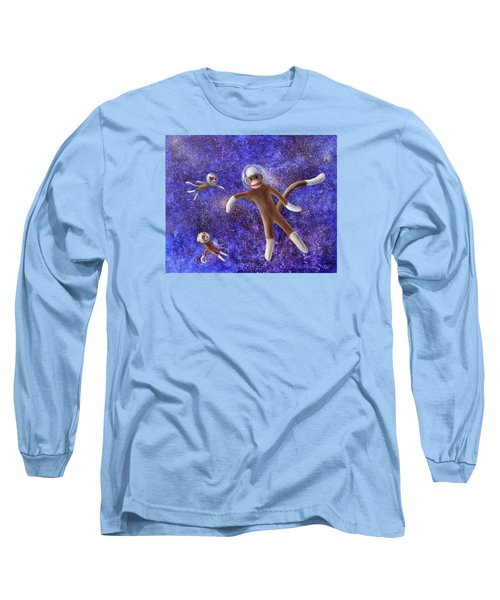 They Came From Outer Space Long Sleeve T-Shirt by Randy Burns