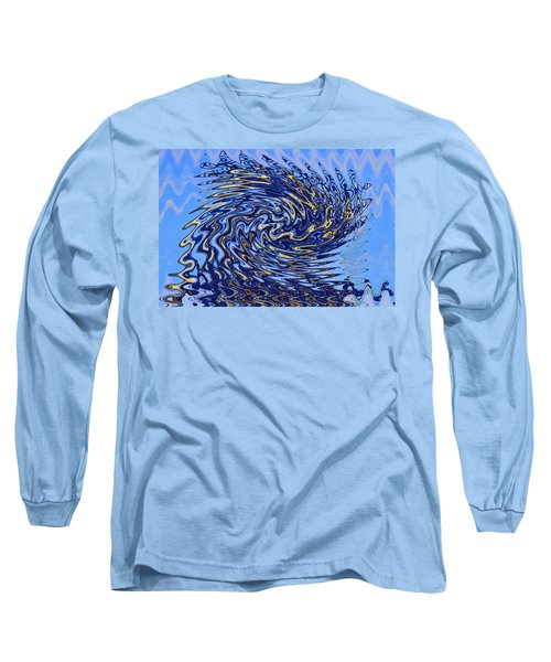 Long Sleeve T-Shirt featuring the photograph Tidal Wave by Gary Holmes