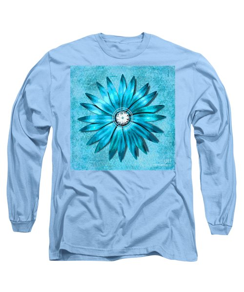 Tiffany Blue And Diamonds Too Long Sleeve T-Shirt by Saundra Myles