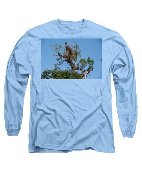 Tikal Furry Tree Long Sleeve T-Shirt