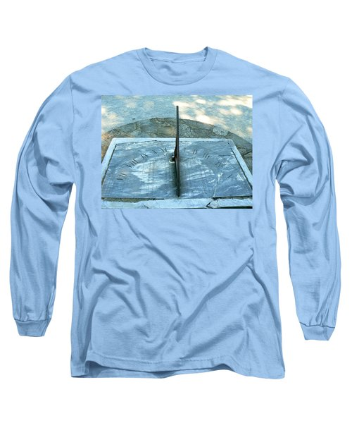 Long Sleeve T-Shirt featuring the photograph Time Keeps On Ticking by Michael Porchik