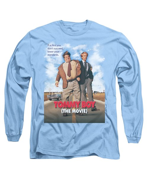 Tommy Boy - Movie Poster Long Sleeve T-Shirt