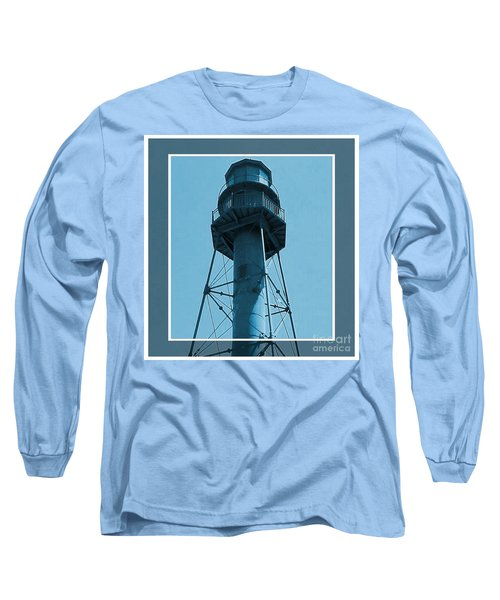 Long Sleeve T-Shirt featuring the photograph Top Of Sanibel Island Lighthouse by Janette Boyd