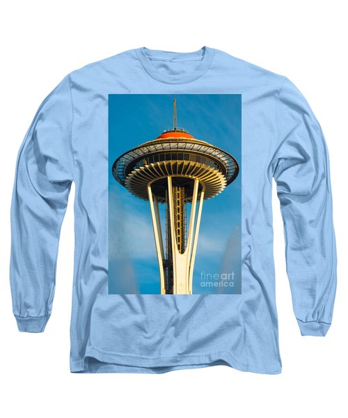 Top Of The Space Needle Long Sleeve T-Shirt