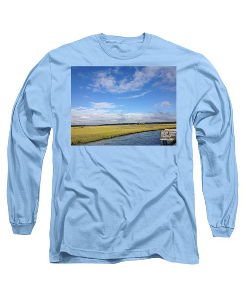 Topsail Island Icw Long Sleeve T-Shirt