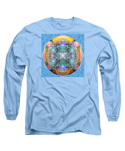 Torusphere Synthesis Cell Firing Soulin IIi Long Sleeve T-Shirt by Christopher Pringer