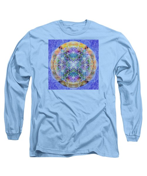 Torusphere Synthesis Interdimensioning Soulin Iv Long Sleeve T-Shirt by Christopher Pringer