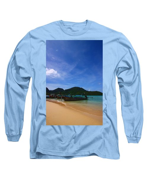 Tranquil Beach Long Sleeve T-Shirt