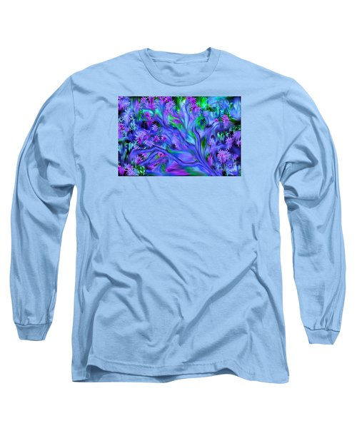 Tree Of Peace And Serenity Long Sleeve T-Shirt by Sherri's Of Palm Springs