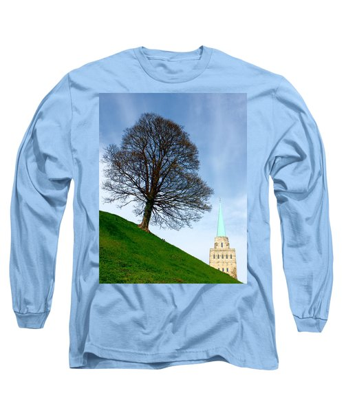 Tree On A Hill Long Sleeve T-Shirt