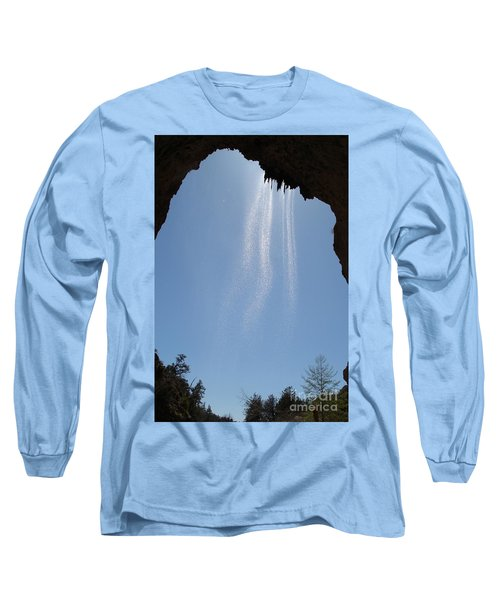 Long Sleeve T-Shirt featuring the photograph Tree Root Run-off by Kerri Mortenson