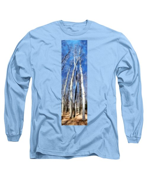 Tree Stand In Early Spring Long Sleeve T-Shirt