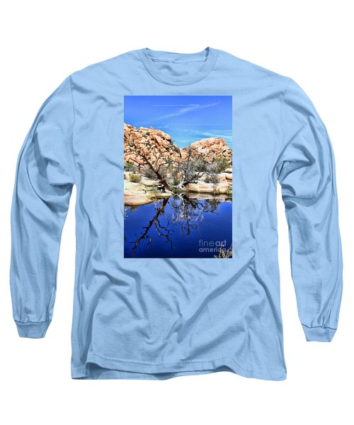 Trees In The Barker Dam Long Sleeve T-Shirt