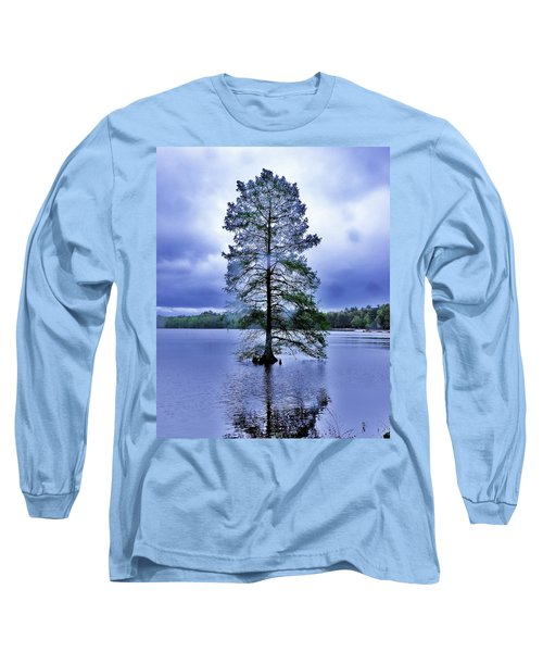 Long Sleeve T-Shirt featuring the photograph The Healing Tree - Trap Pond State Park Delaware by Kim Bemis