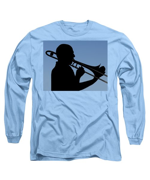 Trombone Player Long Sleeve T-Shirt