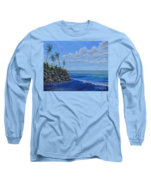 Tropical Day Long Sleeve T-Shirt