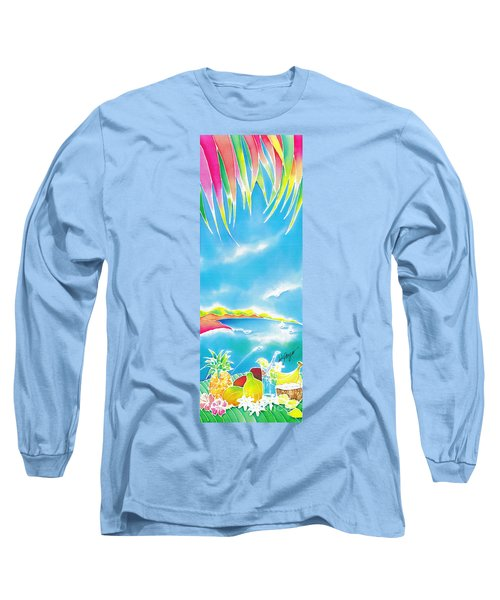 Tropical Fruits Long Sleeve T-Shirt
