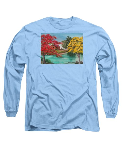 Tropical Lifestyle Long Sleeve T-Shirt