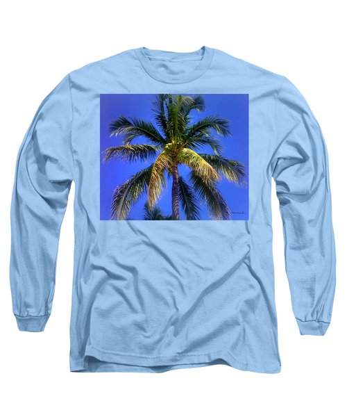 Tropical Palm Trees 8 Long Sleeve T-Shirt
