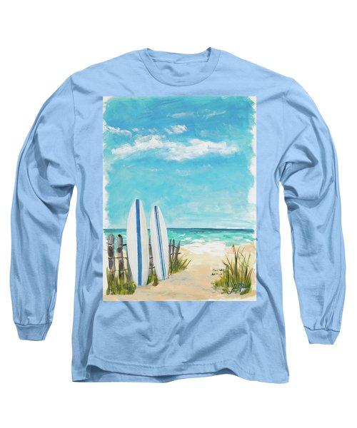 Tropical Surf II Long Sleeve T-Shirt